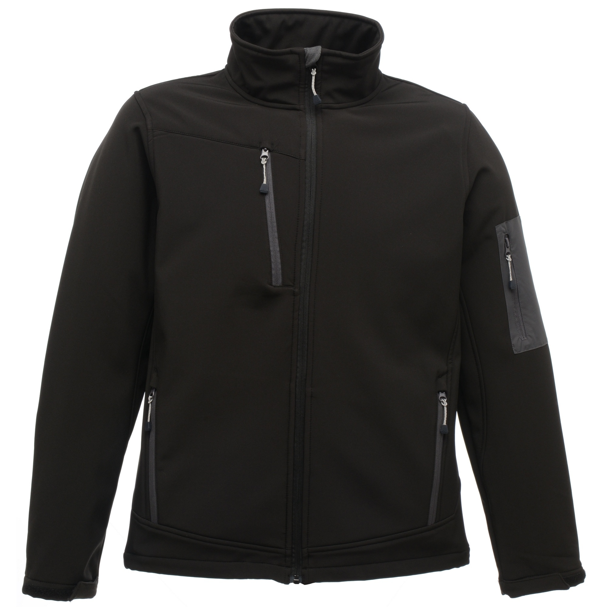 Regatta Softshelljacke Standout Herren Arcola Softshell-Jacke wasserdicht atmungsaktiv | Sportbekleidung > Sportjacken > Softshelljacken | Schwarz | Regatta