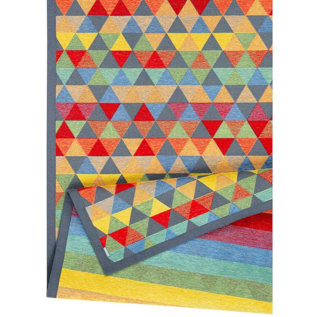 andas Läufer »Eltje«, rechteckig, 7 mm Höhe, Wendeteppich mit zwei Designs
