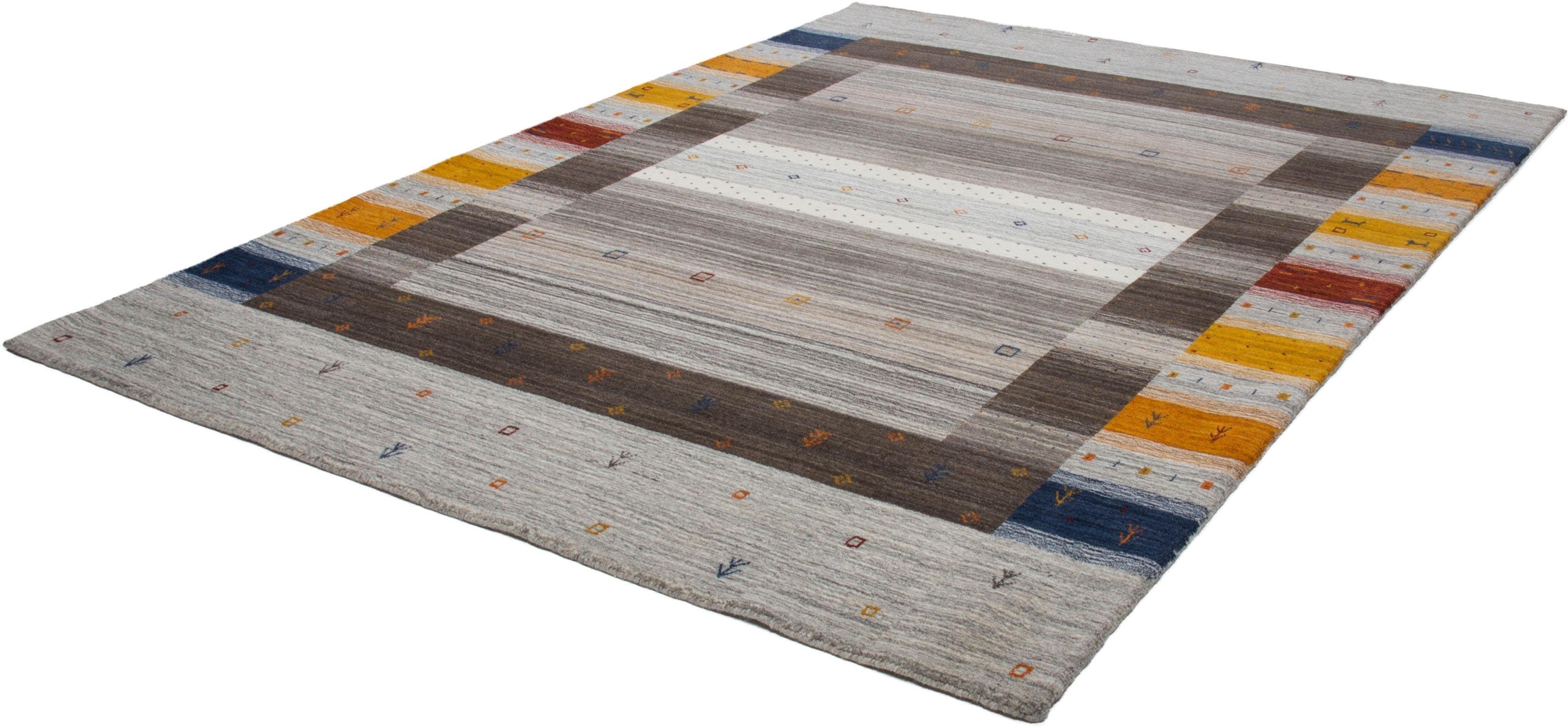 Wollteppich Danos 909 calo-deluxe rechteckig Höhe 13 mm manuell geknüpft