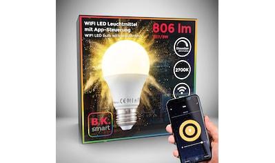 B.K.Licht LED-Leuchtmittel, E27, 1 St., Warmweiß, Smart Home LED-Lampe RGB WiFi... kaufen