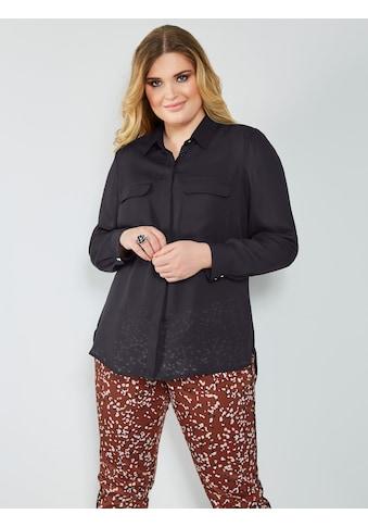 Sara Lindholm by HAPPYsize Longbluse mit Brusttaschen kaufen