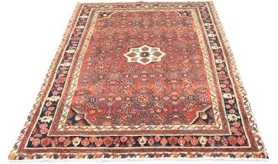 morgenland Wollteppich »Hamadan Teppich handgeknüpft rost«, rechteckig, 8 mm Höhe,... kaufen
