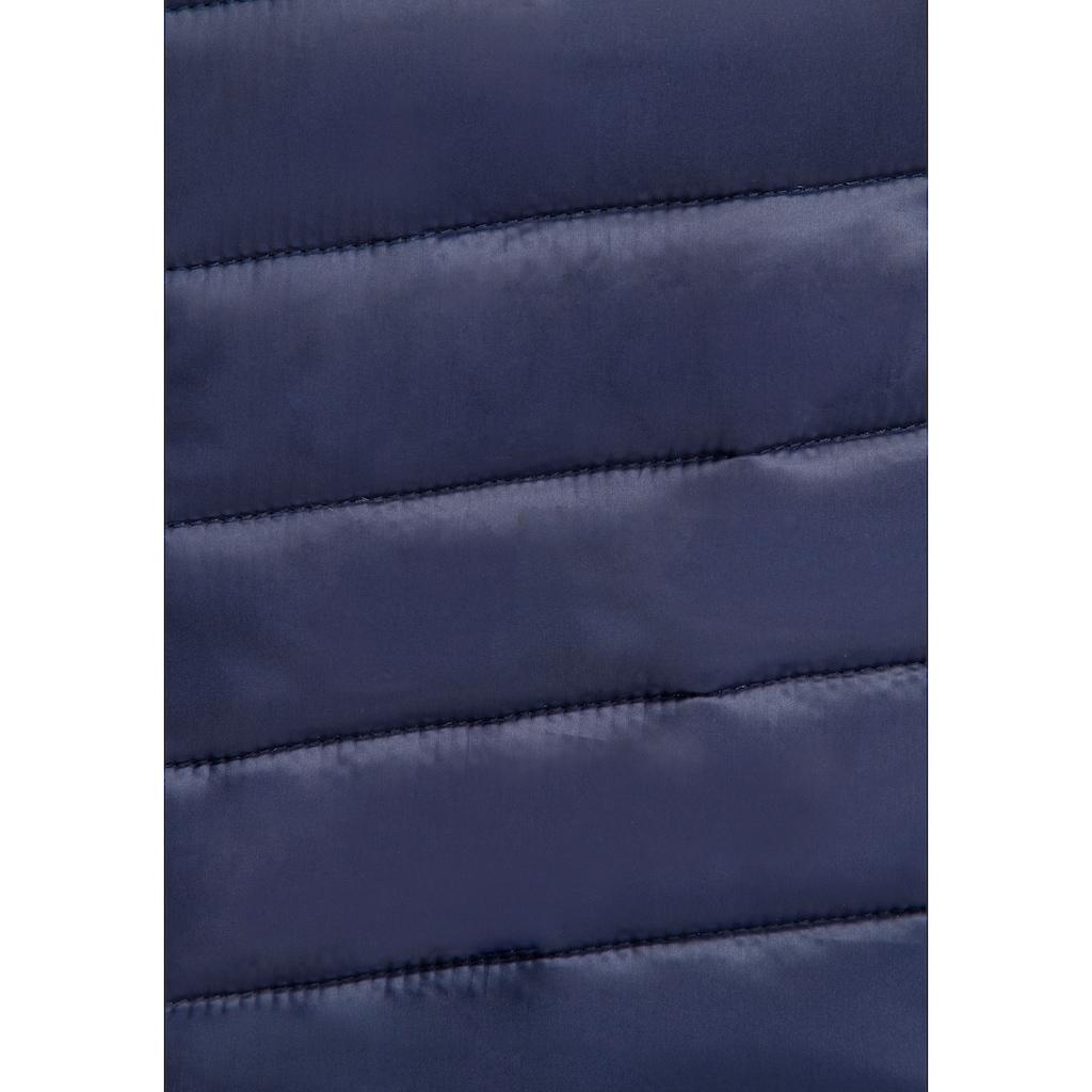 KangaROOS Softshelljacke, mit wattiert gestepptem Vorderteil