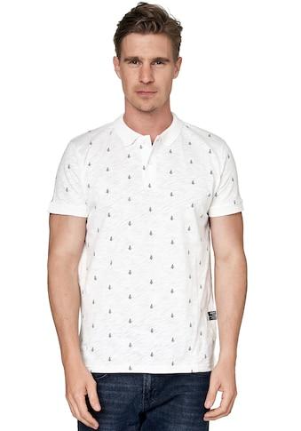 Rusty Neal Poloshirt, mit dezentem Print kaufen