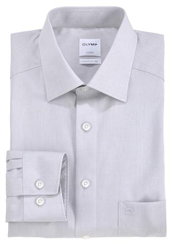 OLYMP Businesshemd »Luxor comfort fit«, unifarben, bügelfrei, mit Brusttasche kaufen