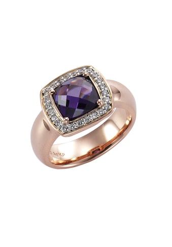 CELESTA Ring »925/ -  Sterling Silber bicolor Zirkonia« kaufen