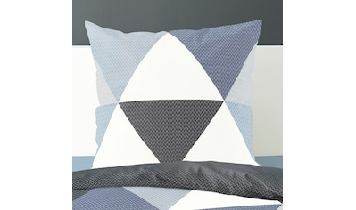 BIERBAUM Wendebettwäsche »Triangel«, mit graphischem Print kaufen