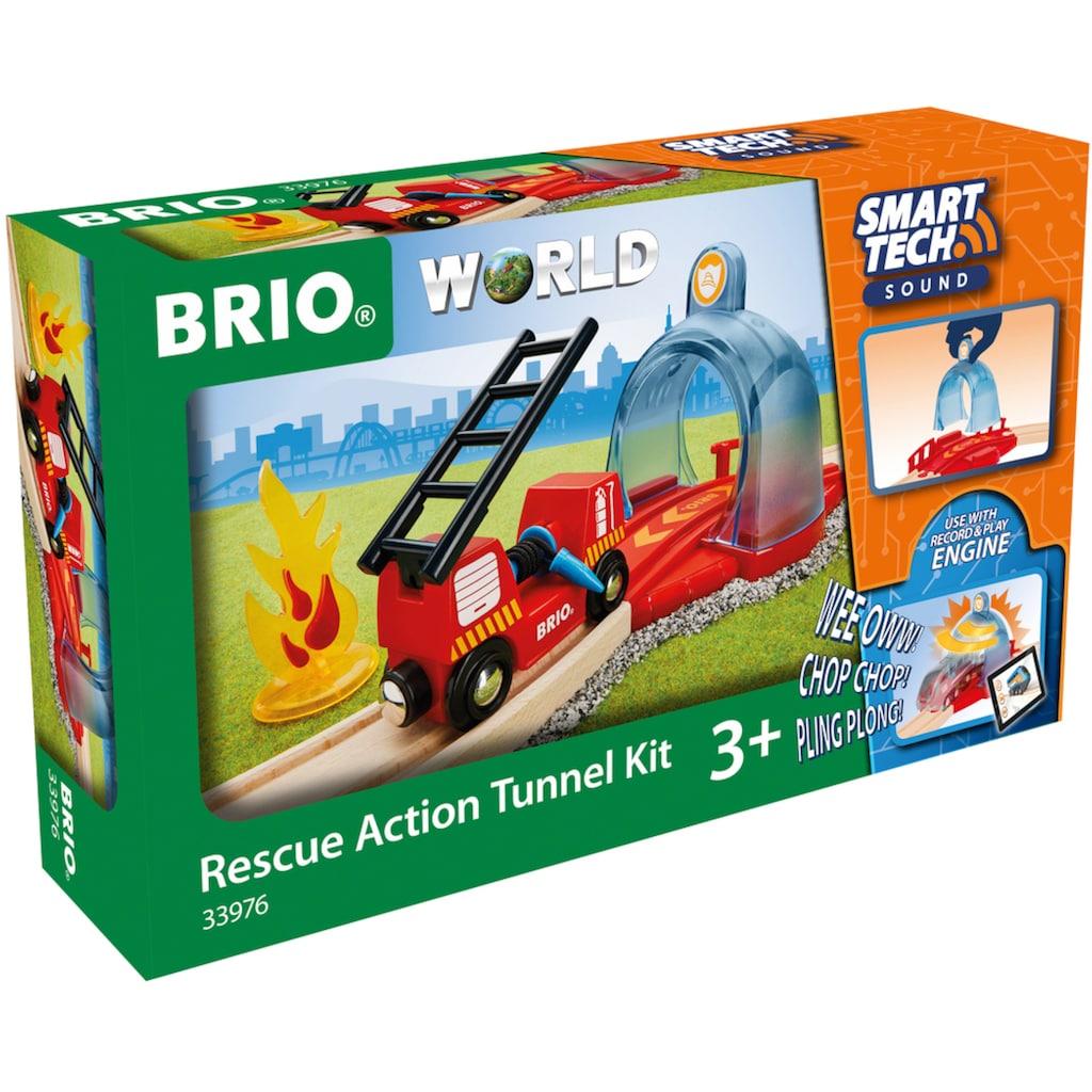 BRIO® Spielzeug-Eisenbahn »Smart Tech Sound Feuerwehreinsatz«, FSC® - schützt Wald - weltweit