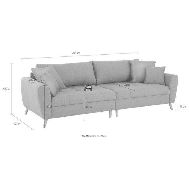 Home affaire Big-Sofa »Blackburn Luxus«