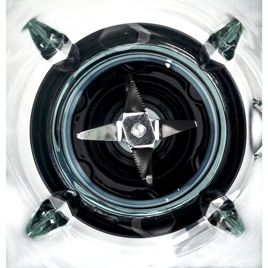 PRINCESS Standmixer »212092 Black Steel«, 1000 W