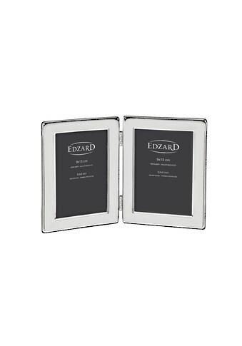 EDZARD Bilderrahmen »Salerno«, versilbert und anlaufgeschützt, für zwei 9x18 cm Fotos... kaufen