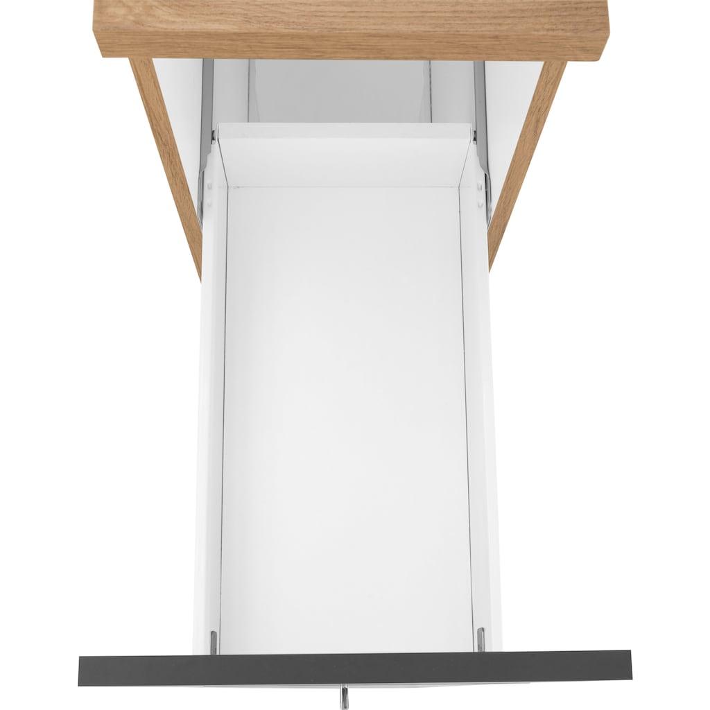HELD MÖBEL Apothekerschrank »Colmar«, 30 cm breit, 165 cm hoch, mit 3 Ablagen, mit Metallgriff