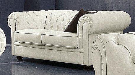 Max Winzer Chesterfield 2-Sitzer Sofa Kent im Retrolook mit edler Knopfheftung | Wohnzimmer > Sofas & Couches > Chesterfield Sofas | Max Winzer