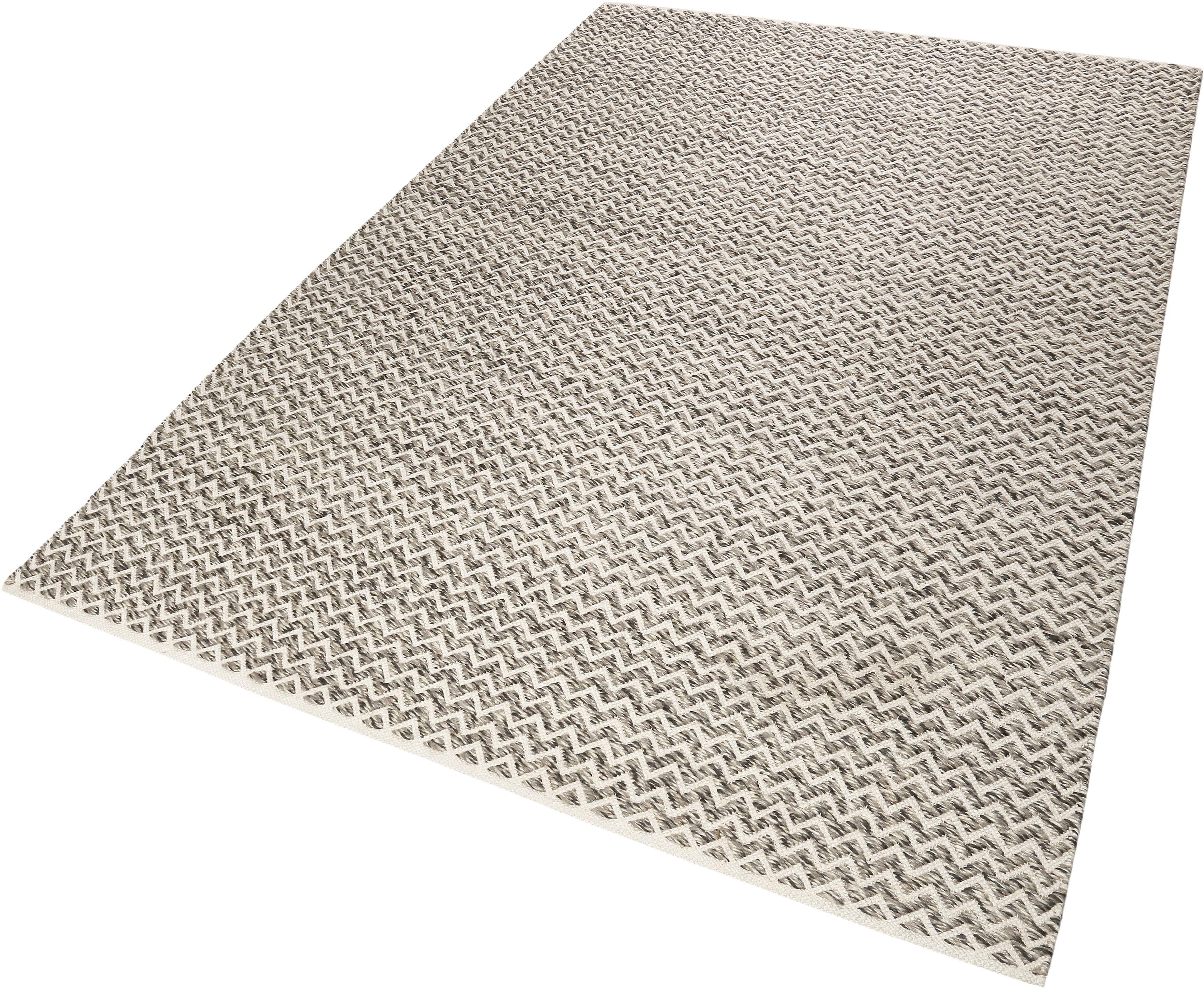 Wollteppich Sandi Kelim Esprit rechteckig Höhe 10 mm handgewebt