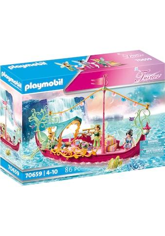 Playmobil® Konstruktions-Spielset »Romantisches Feenboot (70659), Fairies«, mit im... kaufen