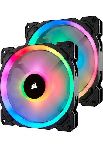 Corsair Computer-Kühler »Corsair LL140 RGB LED PWM PC-Gehäuselüfter (140mm Dual Licht... kaufen