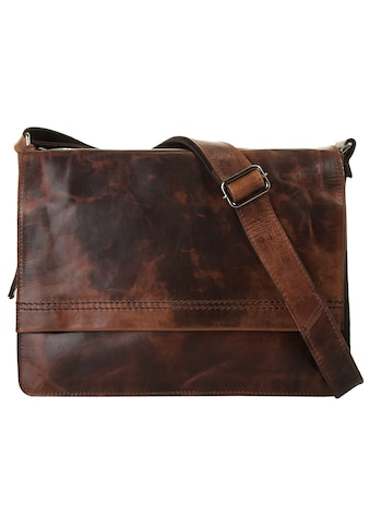 Harold's Messenger Bag »SADDLE«, vegetabil gegerbt kaufen