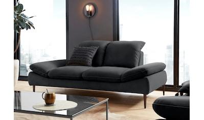 W.SCHILLIG 2-Sitzer »enjoy&MORE«, mit Sitztiefenverstellung, Füße bronze... kaufen
