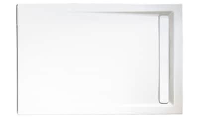 SCHULTE Rechteckduschwanne »mit Rinnenabdeckung«, BxT: 120 x 90 cm kaufen