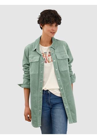 Dress In Langjacke, aus Cord kaufen