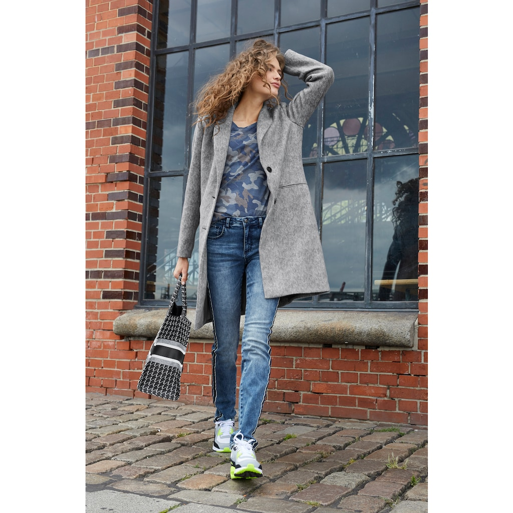 Aniston CASUAL Kurzmantel, mit Reverskragen