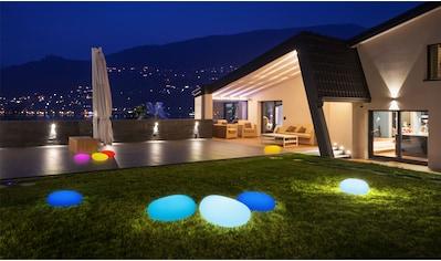 BONETTI LED Gartenleuchte »LED Solar Steinleuchte 50 cm«, 1 St., Farbwechsler kaufen