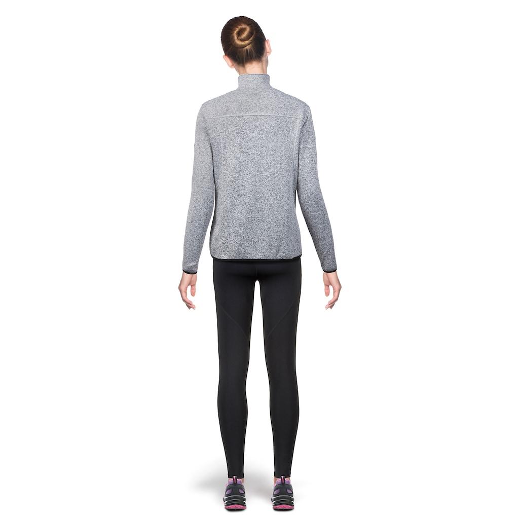 Vertical Fleecejacke »Penelope«, im sportlichen Wollstrick-Look