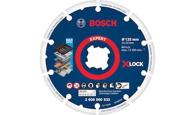 Bosch Professional Diamanttrennscheibe »X-LOCK Diamant-Metallscheibe« kaufen