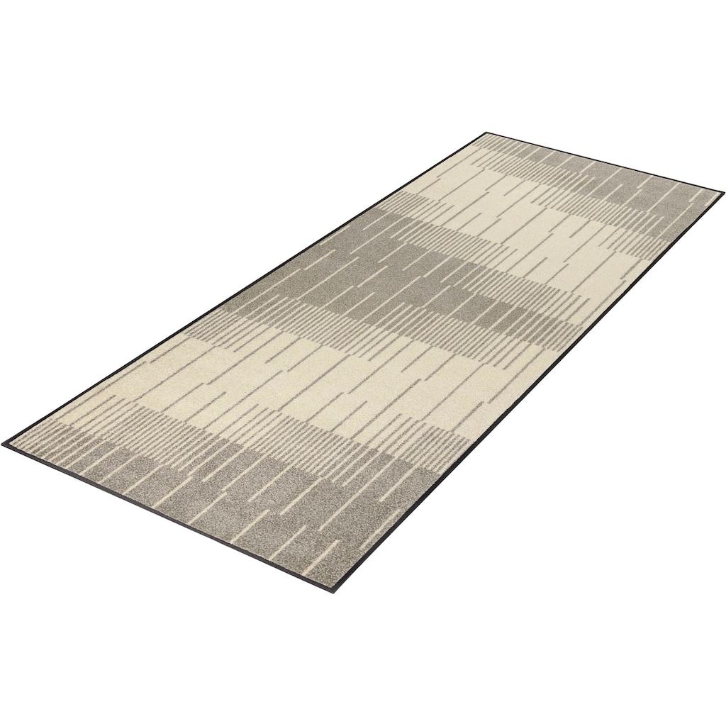 wash+dry by Kleen-Tex Läufer »Linus«, rechteckig, 7 mm Höhe, In- und Outdoor geeignet, waschbar