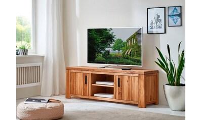 Relita Lowboard »Amigos«, Wildeiche geölt, teilmassiv, Fernsehtisch Breite 150 cm kaufen