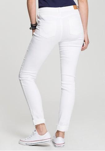 H.I.S Skinny-fit-Jeans »Shaping Regular-Waist mit Push-up Effekt«, Nachhaltige, wassersparende Produktion durch OZON WASH kaufen