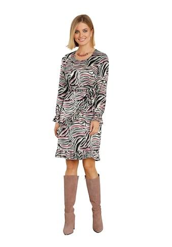 Amy Vermont Kleid in Wickeloptik mit Rüschendeko kaufen