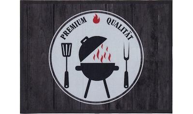 Andiamo Fußmatte »BBQ Premium Qualität«, rechteckig, 3 mm Höhe, Fussabstreifer,... kaufen