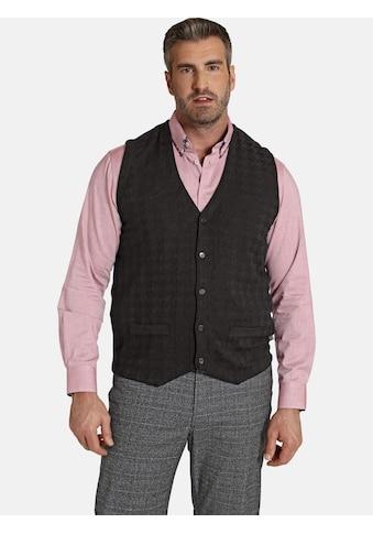 Charles Colby Strickweste »DUKE RYAN«, mit traditionellem Muster kaufen