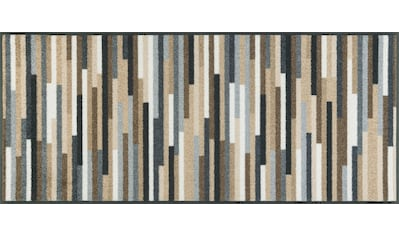 Teppich, »Mikado Stripes«, wash+dry by Kleen - Tex, rechteckig, Höhe 7 mm, gedruckt kaufen