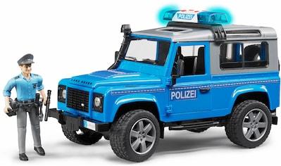 """Bruder® Spielzeug - Polizei """"Land Rover Defender St. Wagon Polizeifahrzeug, 1:16, blau"""" kaufen"""