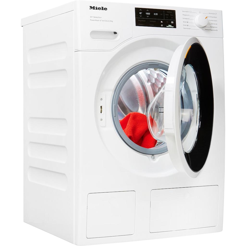 Miele Waschmaschine »WSI863WCS D LW PWash&TDos«, WSI863 WCS PWash&TDos&9kg, 9 kg, 1600 U/min
