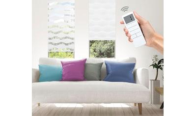Good Life Elektrisches Rollo »Wave - SMART HOME«, Lichtschutz, ohne Bohren, mit Fernbedienung kaufen