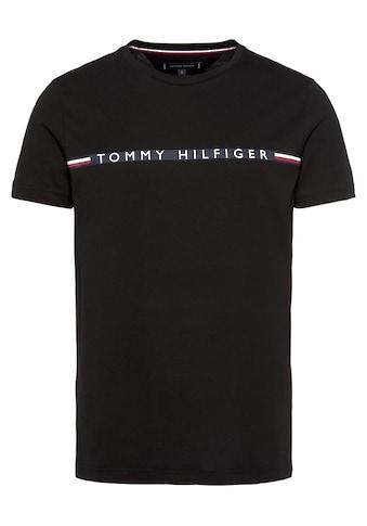 TOMMY HILFIGER T-Shirt »MINI STRIPE TEE« kaufen