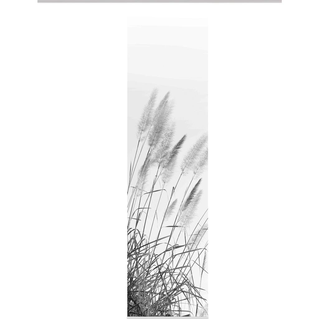 HOME WOHNIDEEN Schiebegardine »SCHIEBEVORHANG DEKOSTOFF DIGITALDRUCK 'PAMPAS'«, DIGITALDRUCK - INDIVIDUELL KÜRZBAR