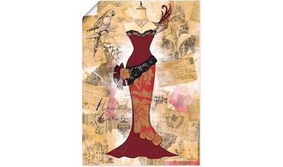 Artland Wandbild »Antikes Kleid  -  Collage« kaufen