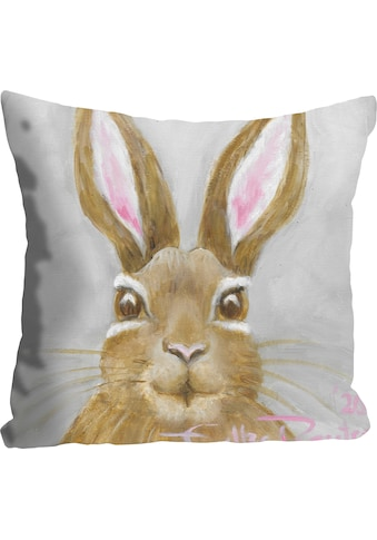 queence Kissenhülle »Little Bunny in Grey«, (1 St.) kaufen
