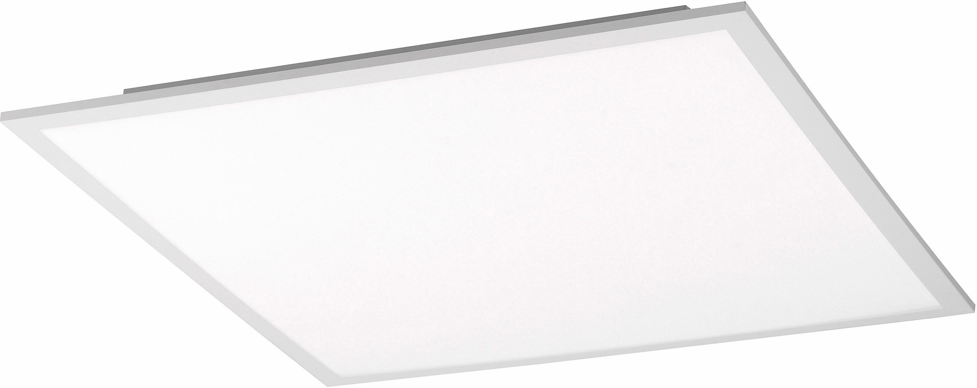 Leuchten Direkt Deckenleuchte FLAT, LED-Board, Warmweiß-Neutralweiß
