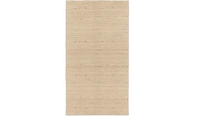 Dekowe Wollteppich »Lindsay«, rechteckig, 12 mm Höhe, reine Wolle, Kurzflor, hangewebt, Wohnzimmer kaufen