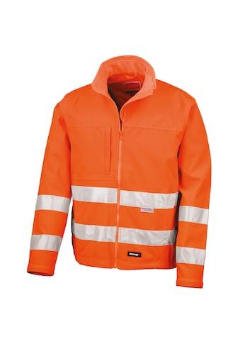 Result Funktionsjacke »Core Herren Hi Vis Winter Softshell Jacke, Wasser und Wind abweisend (2 Stück/Packung)« kaufen