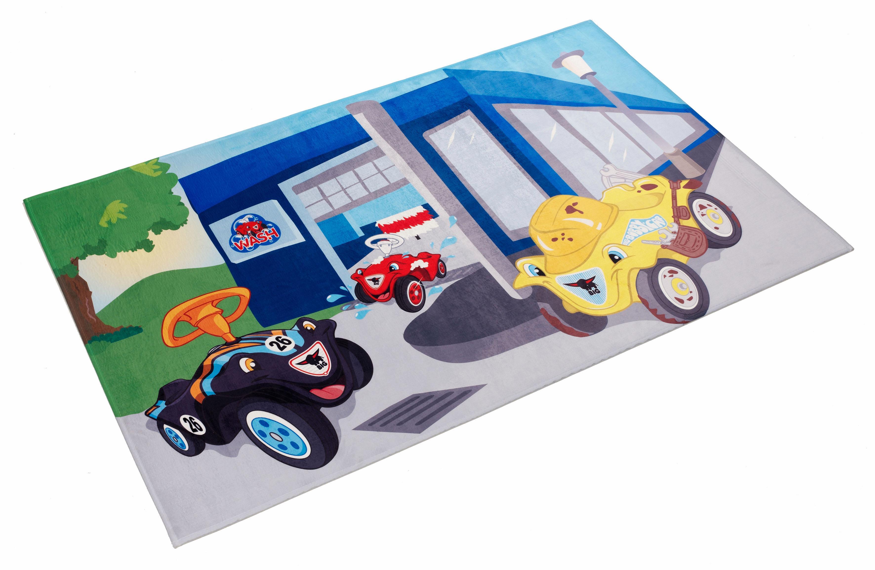 Kinderteppich Bobby Car 104 Bobby Car rechteckig Höhe 6 mm gedruckt