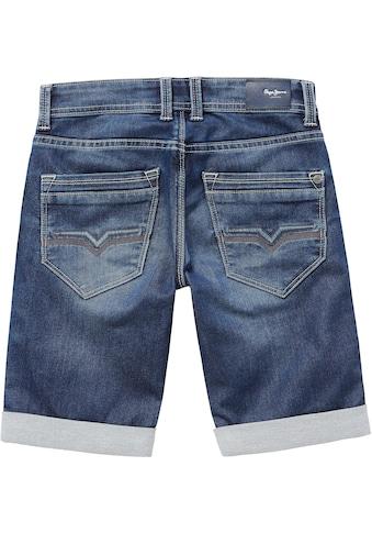 Pepe Jeans Jeansbermudas »CASHED SHORT« kaufen