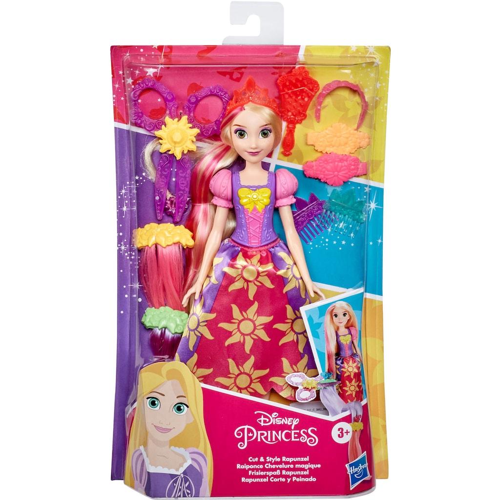 Hasbro Anziehpuppe »Disney Prinzessin - Frisierspaß Rapunzel«, inklusive Haar-Extensions