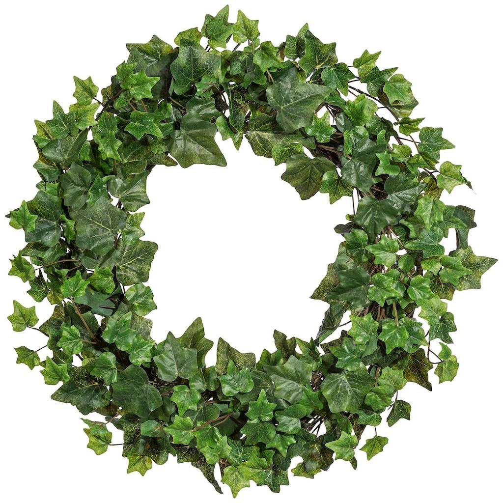 Creativ green Kunstpflanze »Efeukranz«