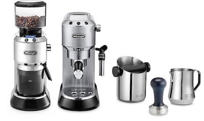 De'Longhi Siebträgermaschine »ECKG6821.M«, inkl. Dedica Kaffeemühle KG 521.M, Tamper,... kaufen